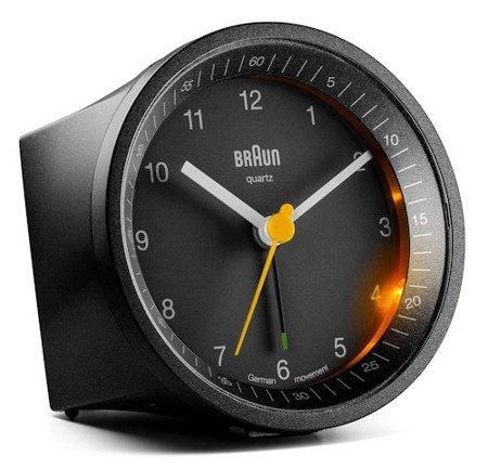 Budzik BRAUN alarm narastający drzemka BNC007BKBK