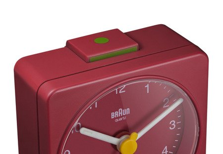 Budzik BRAUN alarm neobrite mały 6 cm BC02R