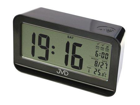 Budzik JVD 3 alarmy termometr czujnik natężenia oświetlenia SB130.2