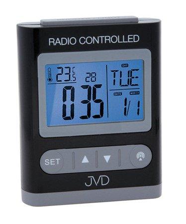 Budzik JVD STEROWANY RADIOWO 5 alarmów temp. RB31.3
