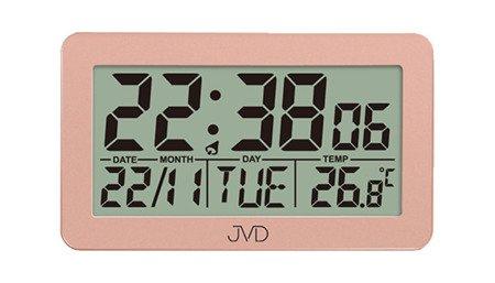 Budzik JVD STEROWANY RADIOWO 5 alarmów temp. RB8203.1