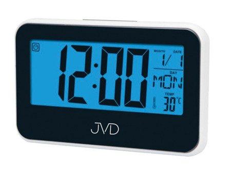Budzik JVD temp. kalendarz timer 15,5 cm SB5815.1