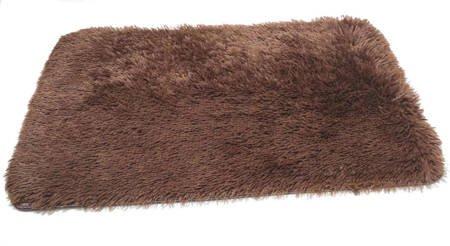 Dywanik łazienkowy ANTYPOŚLIZGOWY 50*80 brązowy