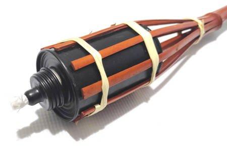 Pochodnia bambusowa olejowa 60 cm komary 10 SZTUK