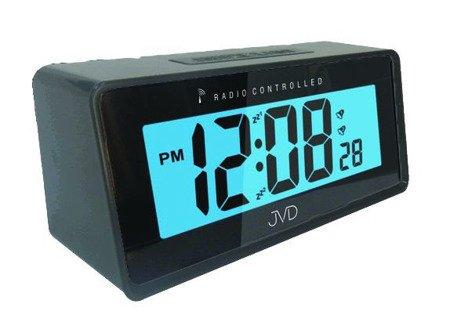 Zegar/Budzik JVD STEROWANY RADIOWO 2 alarmy RB42.1