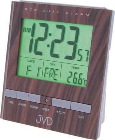 Zegar/Budzik JVD STEROWANY RADIOWO temp. RB92.2