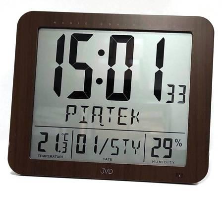 Zegar/Budzik radiowy POLSKIE nazwy DUŻY DH9335.2
