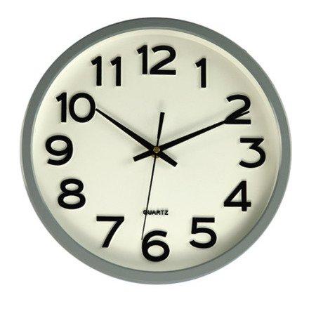 Zegar JVD ścienny CICHY czytelny HX2413.10
