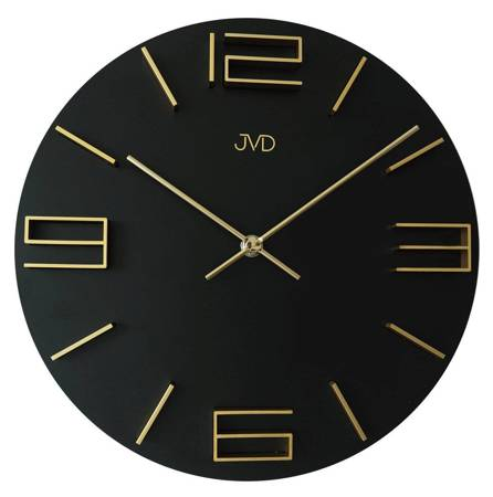 Zegar JVD ścienny DREWNIANY 30 cm HC32.3