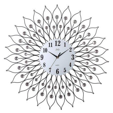Zegar JVD ścienny DUŻY 61,5 cm KRYSZTAŁY HJ90