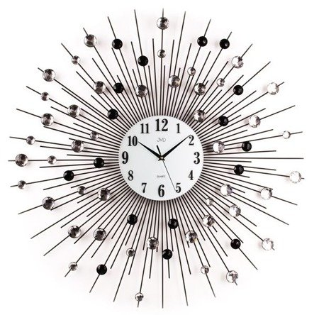 Zegar JVD ścienny DUŻY 75 cm DESIGNERSKI HJ21