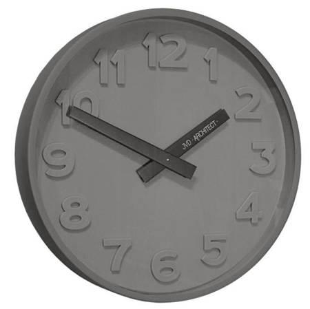 Zegar JVD ścienny GRAFIT nowoczesny METAL HC13.2