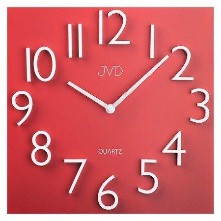 Zegar JVD ścienny METAL MAGNES nowoczesny  HB18