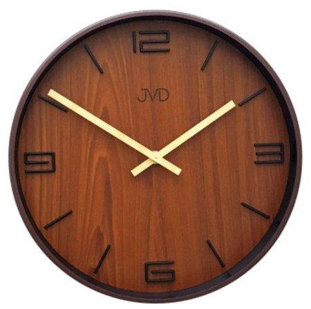 Zegar JVD ścienny NOWOCZESNY 30 cm HC22.2