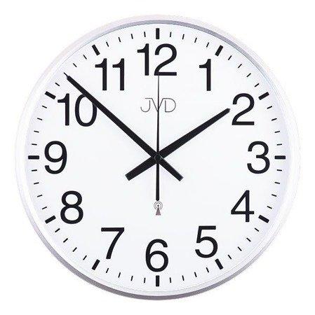 Zegar JVD ścienny STEROWANY RADIOWO 30 cm RH684.4