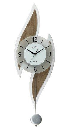 Zegar JVD ścienny WAHADŁO drewno 76 cm NS18063.41