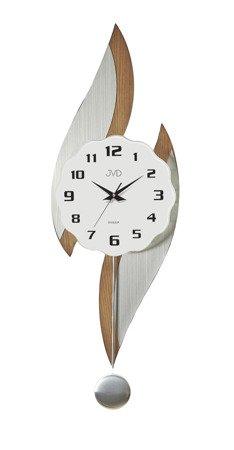 Zegar JVD ścienny Z WAHADŁEM drewno 76 cm NS18063.11