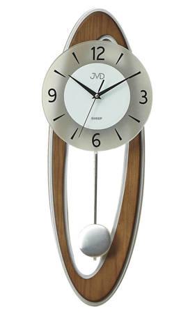 Zegar JVD ścienny Z WAHADŁEM drewno NS18053.11