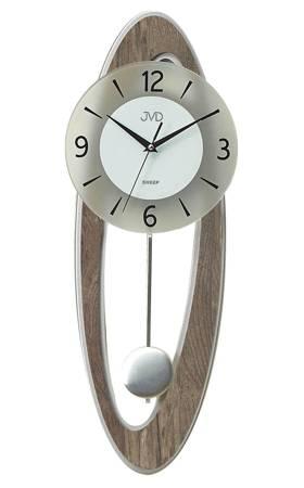 Zegar JVD ścienny Z WAHADŁEM drewno NS18053.78