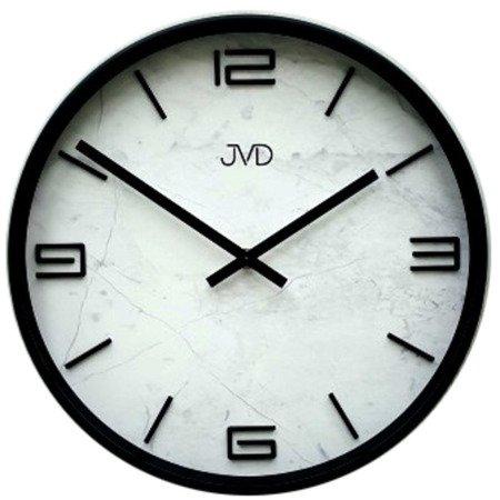 Zegar JVD ścienny nowoczesny MARMUR 30 cm HC21.2