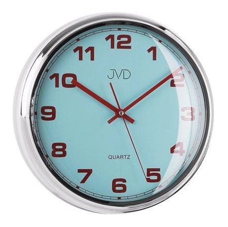 Zegar JVD ścienny nowoczesny cichy (płynący sekundnik) HA4.1