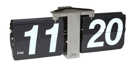 Zegar JVD ścienny stojący KLAPKOWY 36 cm HF18.4
