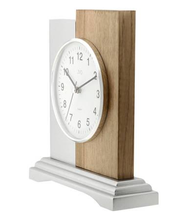Zegar JVD stojący DREWNO kominkowy HS19012.2