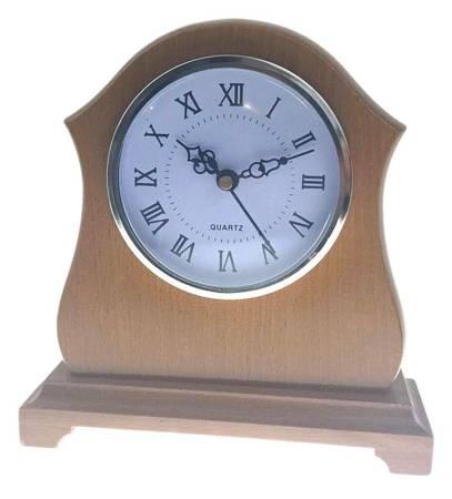 Zegar JVD stojący kominkowy drewniany  ATW123