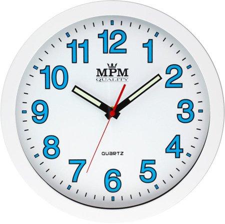Zegar MPM ścienny 30 cm NEOBRITE nowoczesny E01.3104.0000