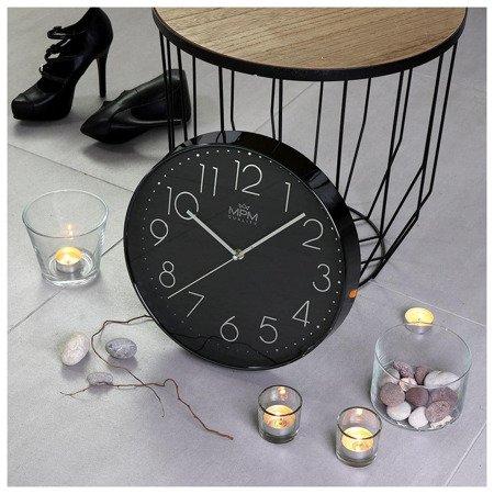 Zegar MPM ścienny 31 cm  czytelny E01.3899.9090