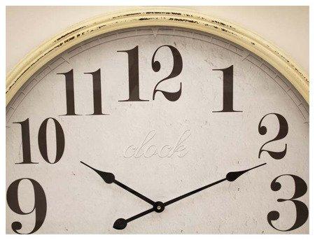 Zegar drewniany efektowny i oryginalny bardzo duży XXL 106496