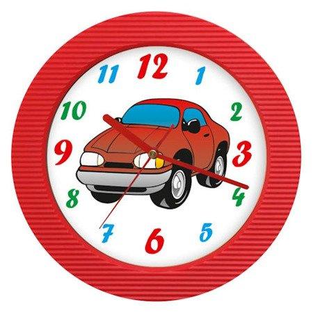 Zegar dziecięcy auto kolorowy ATE98105T RED
