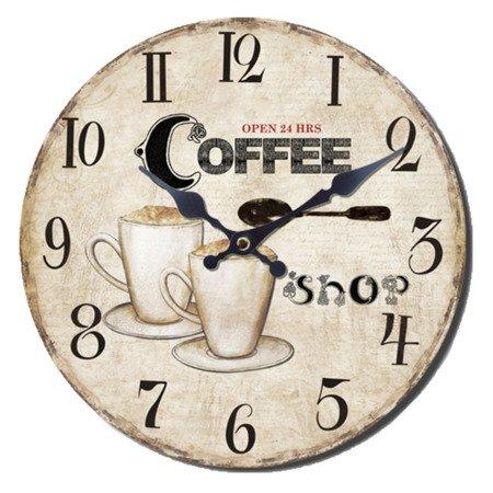 Zegar ścienny JVD RETRO NB1