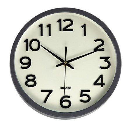 Zegar ścienny JVD  grafit płynący 30 cm HX2413.9
