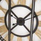Zegar ścienny METALOWY ażurowy nowoczesny loft bardzo DUŻY 118007