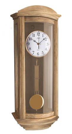 Zegar ścienny Z WAHADŁEM drewno KURANTY N2220.78