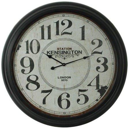 Zegar ścienny metalowy retro bardzo duży XXXL 97150