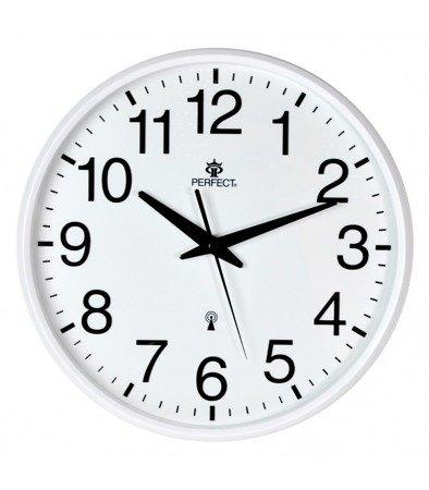 Zegar ścienny sterowany radiowo SWR684 DCF White