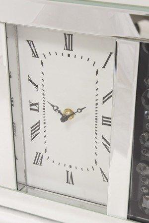 Zegar ścienny stojący kryształ lustro szkło 115928