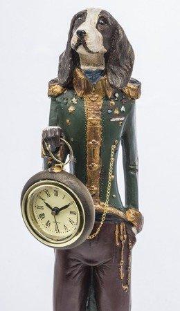 Zegar stojący figurka Pies i Alicja DUŻA 121674
