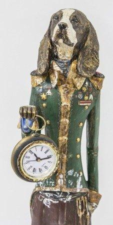 Zegar stojący figurka Pies i Alicja DUŻA 76145